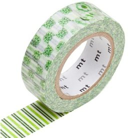 MT  MT washi tape flower green