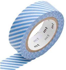 MT  MT masking tape stripe light blue