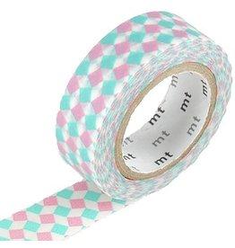 MT  MT washi tape square pink