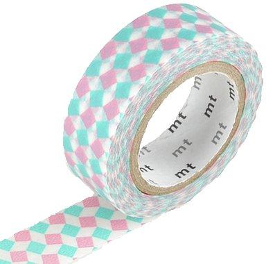 MT washi tape square pink
