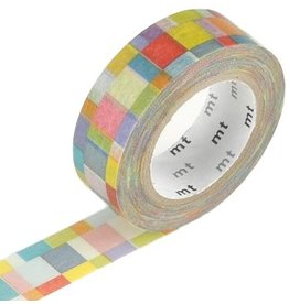 MT  MT washi tape mosaic bright