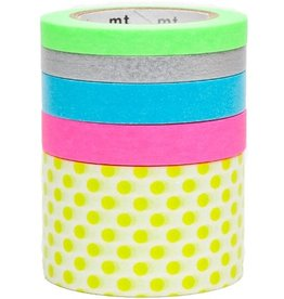 MT  MT masking tape 5 pack suite M