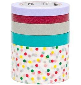 MT  MT washi  tape 5 pack suite