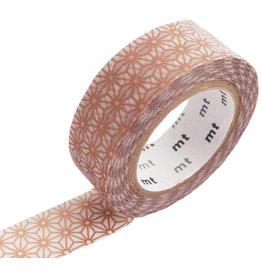 MT  MT washi tape asanoha sinchu