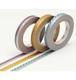 MT washi tape slim deco metallic