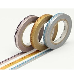 MT  MT washi tape slim deco metallic