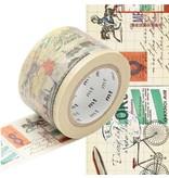 MT washi tape ex travel way