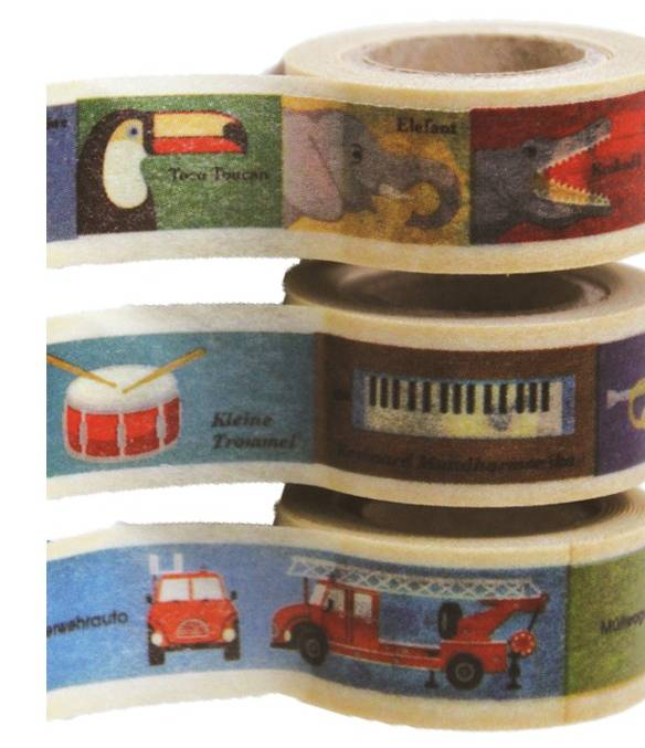 MT washi tape kids dieren