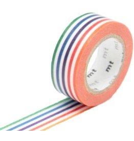 MT  MT washi tape kids kleurige lijntjes