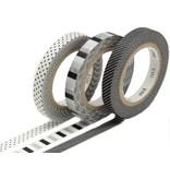 MT washi tape slim set deco monochrome
