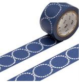 MT masking tape ex tambourine blauw