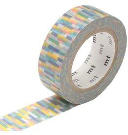 MT  MT washi tape block blue