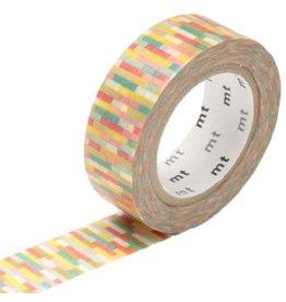 MT  MT washi tape block pink