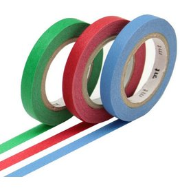 MT  MT masking tape slim set monocolor 2