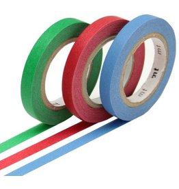 MT  MT washi tape slim set monocolor 2