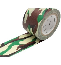 MT  MT masking tape ex camouflage groen