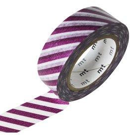 MT  MT masking tape stripe purple