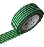 MT masking tape border evergreen