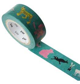 MT  MT masking tape Skansen animals