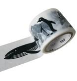 MT washi tape fab black animals