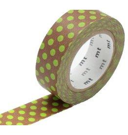 MT  MT masking tape dot kiwi