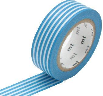 MT masking tape border sky blue