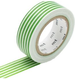 MT  MT masking tape border light green