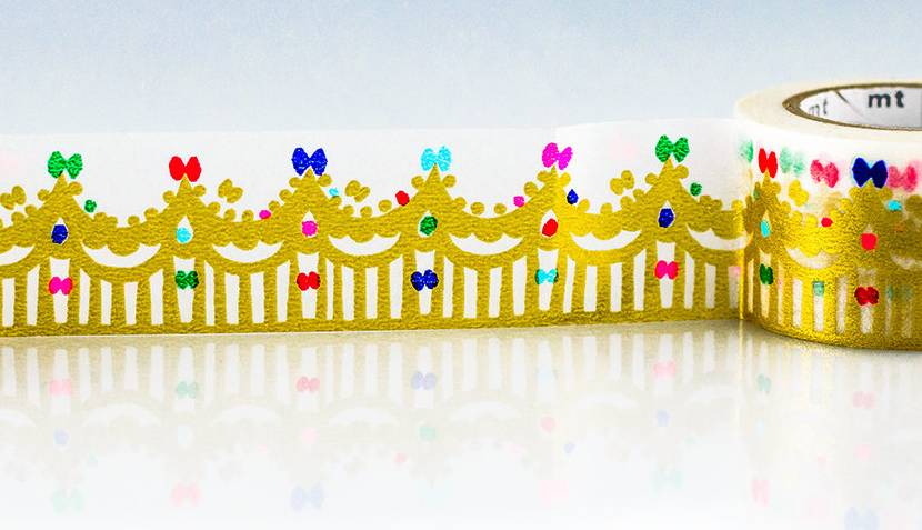 MT masking tape crown gold
