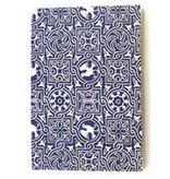 {Love letter} blue & white diamond