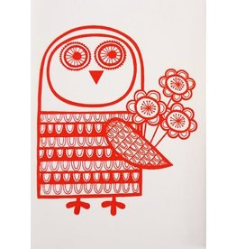 Jane Foster Red owl with love