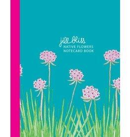 Kaartenboek Native flowers