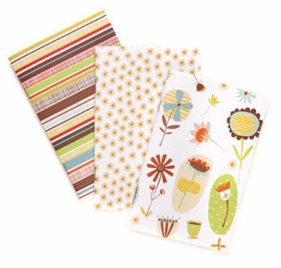 Set notebooks Botanica