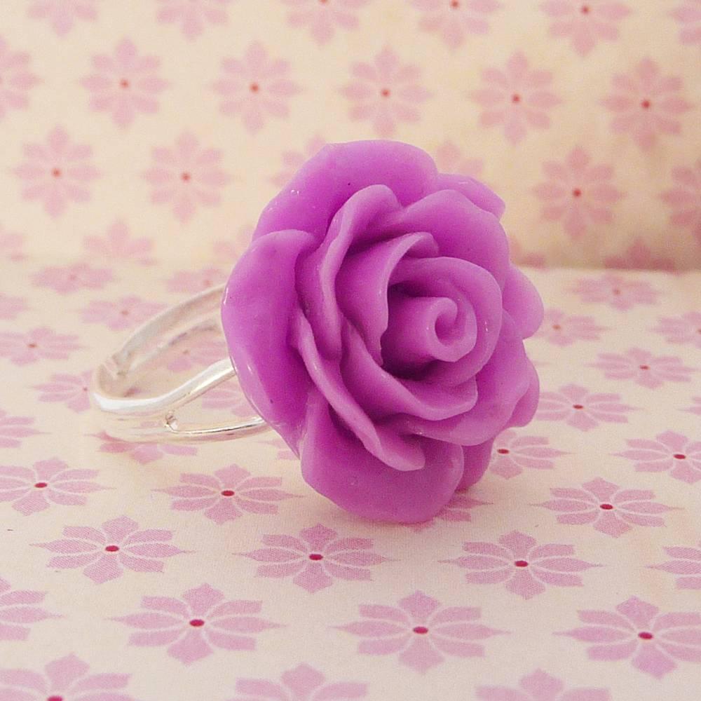 Ring pink rose
