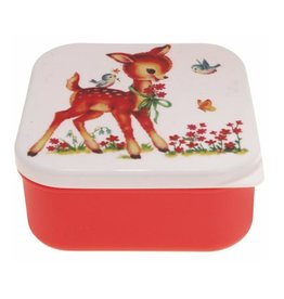 lunchtrommel bambi rood