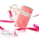 iPhone hoesje pink ribbon
