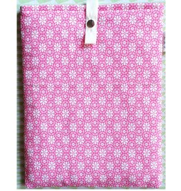 iPad sleeve blooming pink