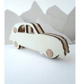 De krantenkapper Stempel Citroën 2CV