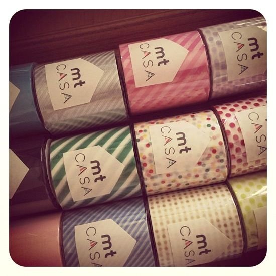 MT casa washi tape  small dot goud 200 mm