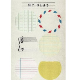 MT  MT casa Seal ex round stickers