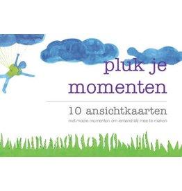 Janne Willems Set ansichtkaarten Pluk je momenten
