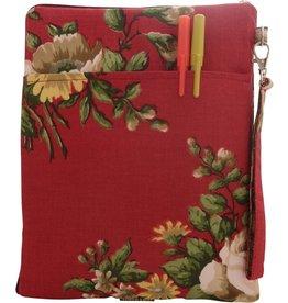 Huisteil creaties Tablet sleeve barok rood