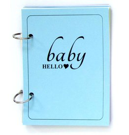 Gadanke {Baby hello} - brag book blue