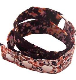 Huisteil creaties Wrap me armband Huisteil vintage brown