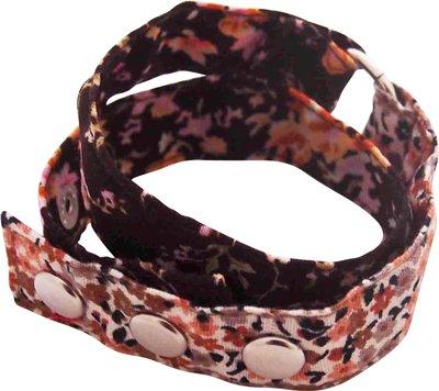 Wrap me armband Huisteil vintage brown
