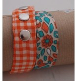 Wrap me armband Huisteil orangerie