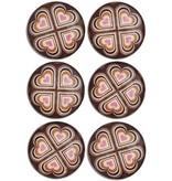 Magneten serie vintage hart