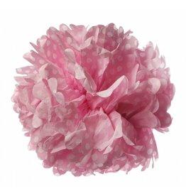 Sass & Belle Paper pom pom dot pink