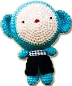Mr. Monkey knuffel