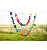 Crochet guirlande pastel