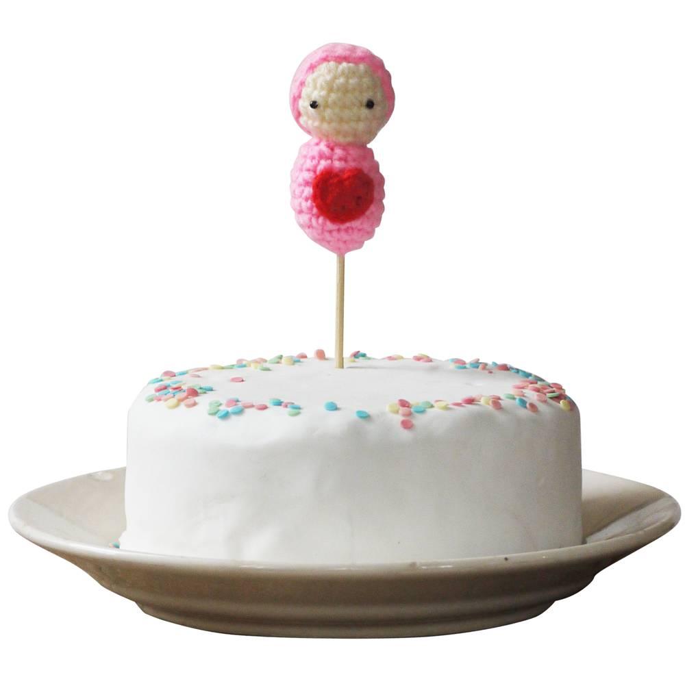 Cake topper babygirl